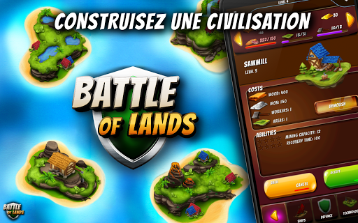 Code Triche Battle of Lands APK MOD (Astuce) screenshots 1