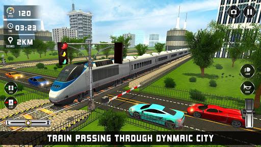 train driving simulator 2020: new train games screenshot 1