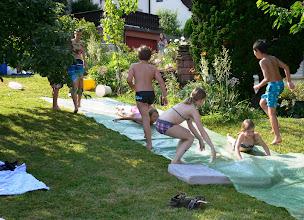 Photo: Jungschar Wasserrutschen