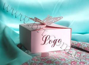 Photo: Подарочная коробка с высечкой. Дизайнерский картон
