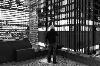 Photo: [Toronto's Walled City] Sir Dr. +Ronnie YipPhD Esq surveys the walled city that is Bay Street, Toronto.  ISO: 3200 Shutter: 1 seconds Aperture: F/4 Camera: Canon 5d Mk II Lens: Canon 16-35mm F/2.8 L Mk II  #toronto #blackandwhite #rooftopping #urbex #urbanexploration #baystreet