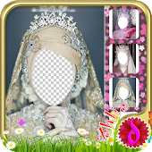Hijab Wedding Frames Editor