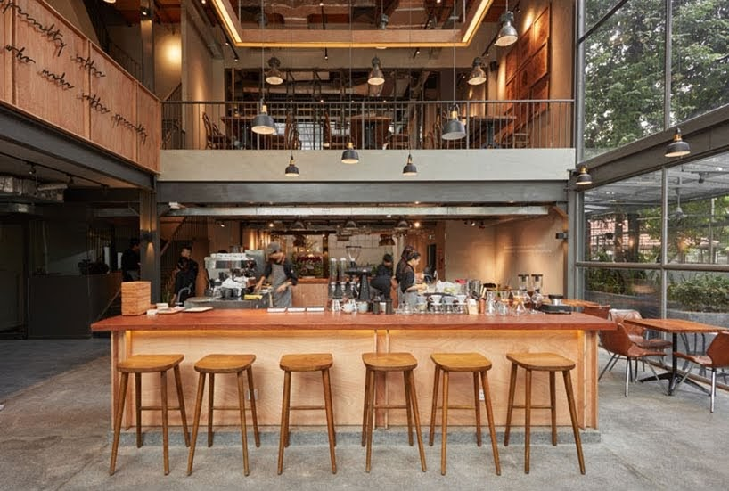 The Coffee House Signature por Bo Design & Construction