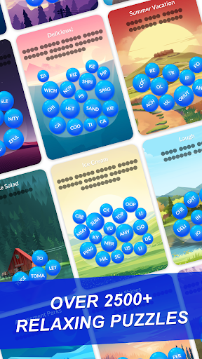 Word Serenity - Calm & Relaxing Brain Puzzle Games modavailable screenshots 3