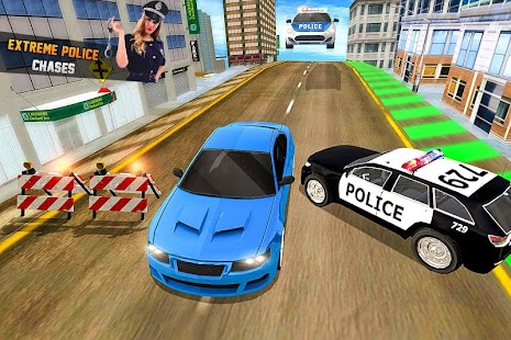 Endless Race Police Chase: 3D Racing Games - náhled
