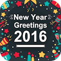 New Year Cards 2016 icon