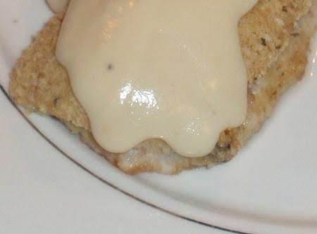 Chicken Cordon Bleu With Swiss Dijon Alfredo Sauce.