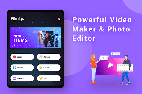 Filmigo Video Maker Mod Apk (VIP) Photos with Music & Video Editor 4.8.7 10