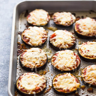 Low-Carb Eggplant Pizza Bites.