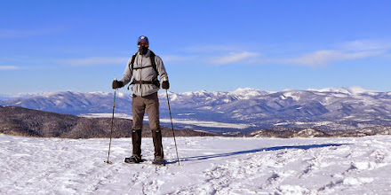Photo: On the CDT between Granite Butte and Stemple Pass - Red Mountain on right side of horizon