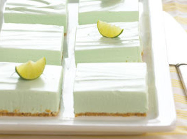 Healthified Key Lime Pie Bars Recipe