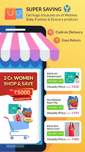 Indian Women App: Healofy 3.0.7.74 screenshots 1