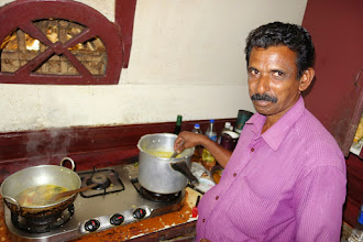 Photo: Cooking lunch