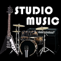 Studio music - garage band icon