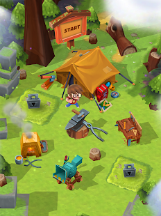 Craft Away! - Idle Mining Game APK Screenshot