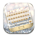 Gold And Silver Keyboard Theme icon