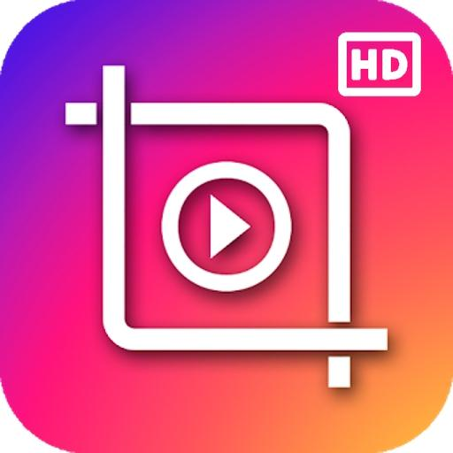 Video Editor: Cut, Resize, No Crop, Music, Effects Icon