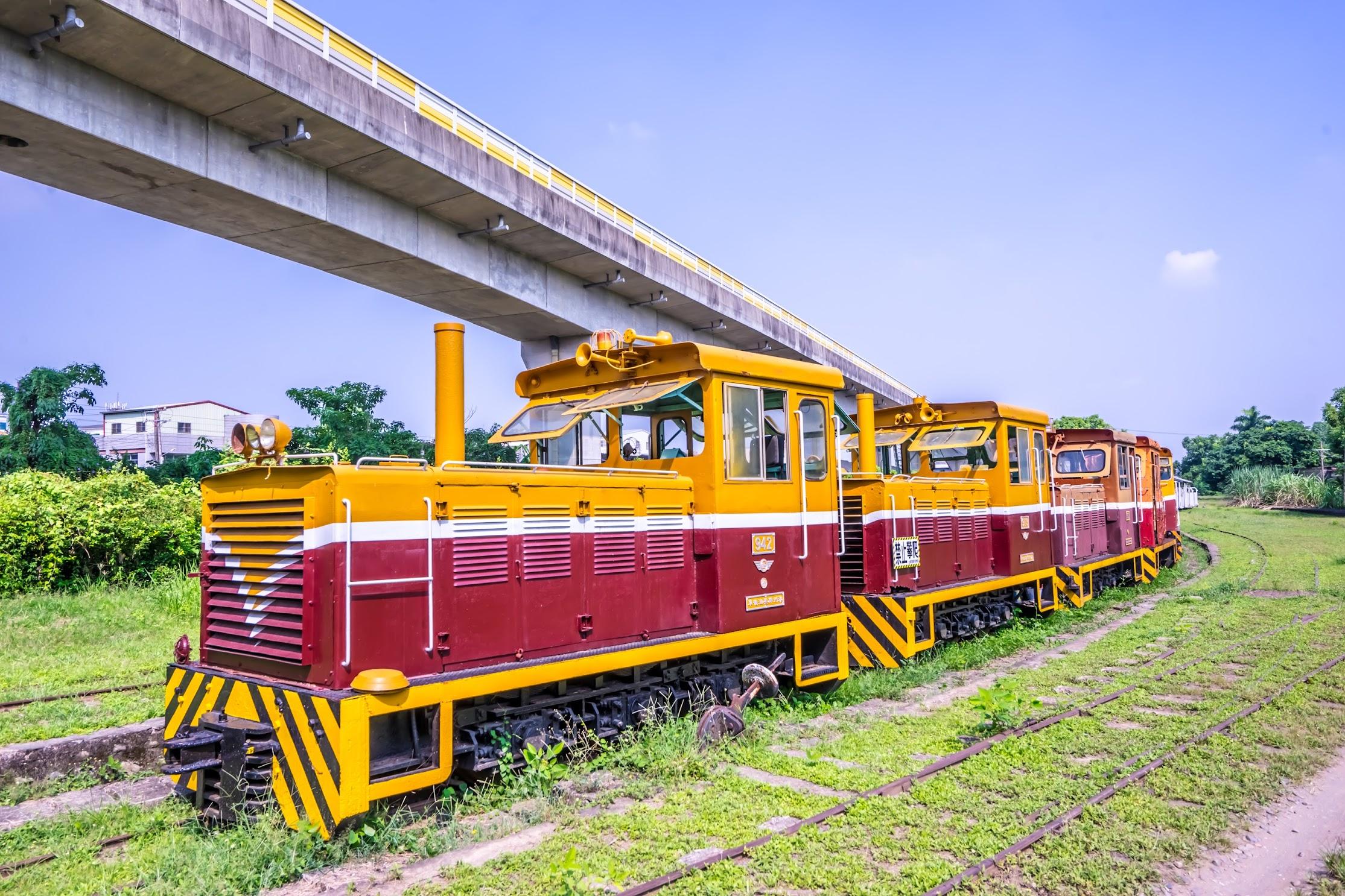 Taiwan Sugar Museum train2