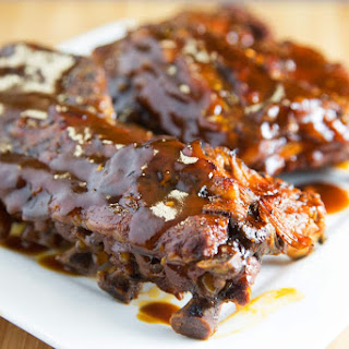 Slow Cooker Ginger Beer Barbecue Baby Back Ribs.