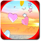 Cuori 3D Live Wallpaper Free icon
