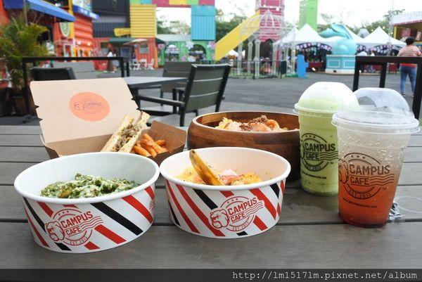 CAMPUS CAFE-台中UNO市集店~美式校園輕食進駐貨櫃市集
