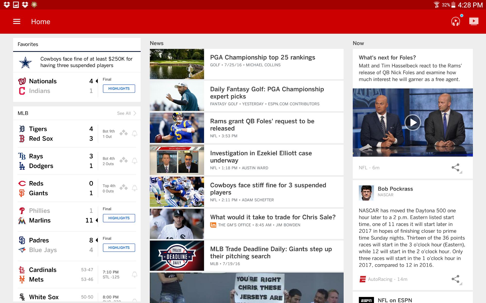 ESPN screenshot #7