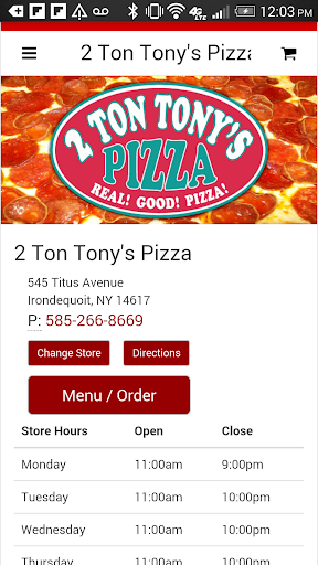 2 Ton Tony's Pizza