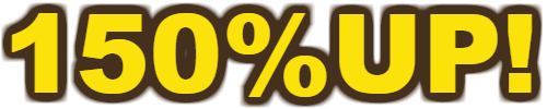 150%UP