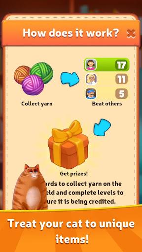 Kitty Scramble: Word Stacks screenshots 4