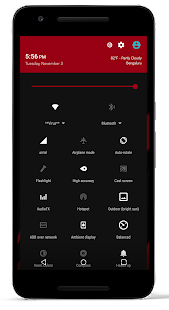 DarkOut CM13 / CM12.1 Theme- screenshot thumbnail