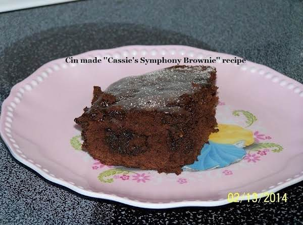 Symphony Brownies Recipe