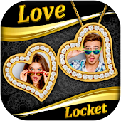 Love Locket Photo Frames : Couple Locket