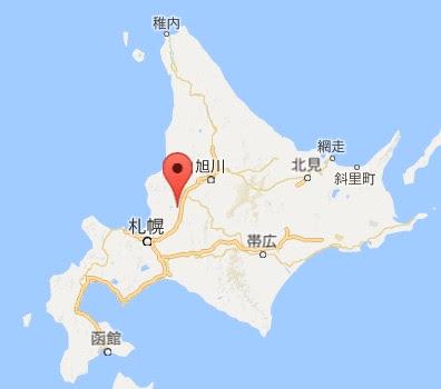 地図:そば処ぼたん亭