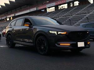 CX-8  XD L package AWD マシーングレープレミアムメタリックのカスタム事例画像 nori-cx8@にっしーさんの2020年10月19日09:26の投稿