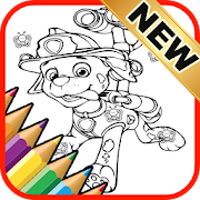 Printable Coloring Pages Paw for Patrol by Fans icon