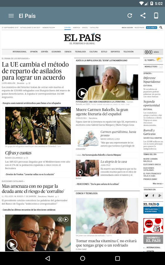 Spanish Newspapers- screenshot