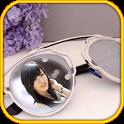 Sunglass glasses Photo Frames icon