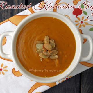 Roasted Kabocha Squash Soup.