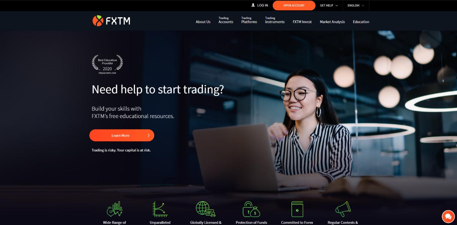 fxtm Official site