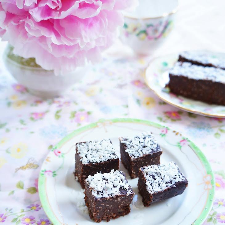 Easy Peasy Coconut And Chocolate Fudge Cake