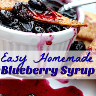 Blueberry Syrup For Drinks Recipes