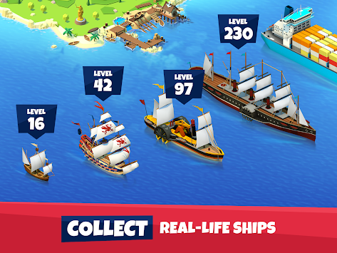 Seaport - History of Ships apk screenshot