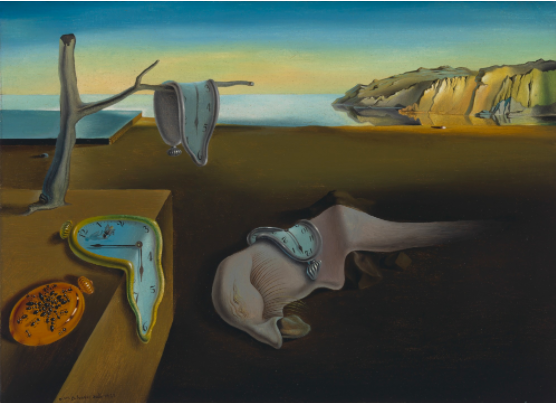 Salvador Dali (1904-1989)  The Persistence of Memory