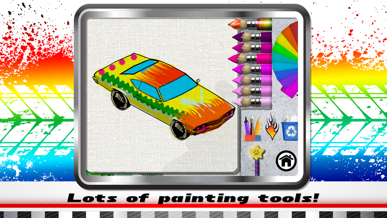 paint my car bring colors alive android apps on google play. Black Bedroom Furniture Sets. Home Design Ideas