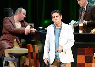 Photo: WIENER STAATSOPER: DON PASQUALE. Inszenierung: Irina Brook. Premiere: 26.4.2015. Michele Pertusi, Juan Diego Florez. Copyright: Barbara Zeininger.