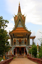 Photo: Year 2 Day 39 - Through the Gate a Beautiful Wat  (Moung Ruessie)