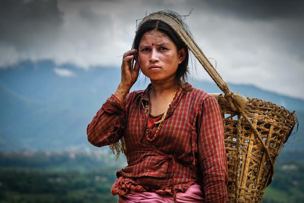 Lavoratrice Nepalese di laurafacchini