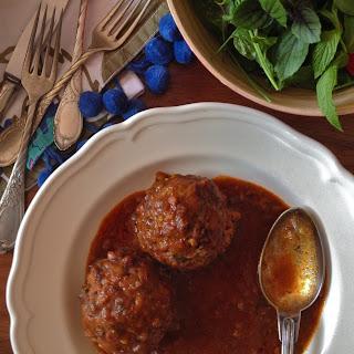 "Meatless Herby Persian-Style ""Meatballs"" (kūfteh sabzī)"