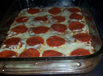 Deep Dish Pizza Quiche Recipe