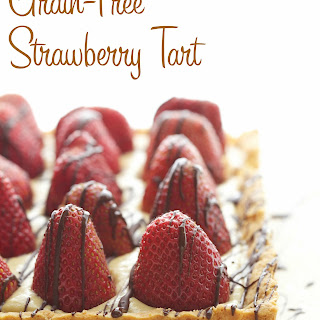 Strawberry Tart (Grain-Free, Gluten-Free, Paleo)
